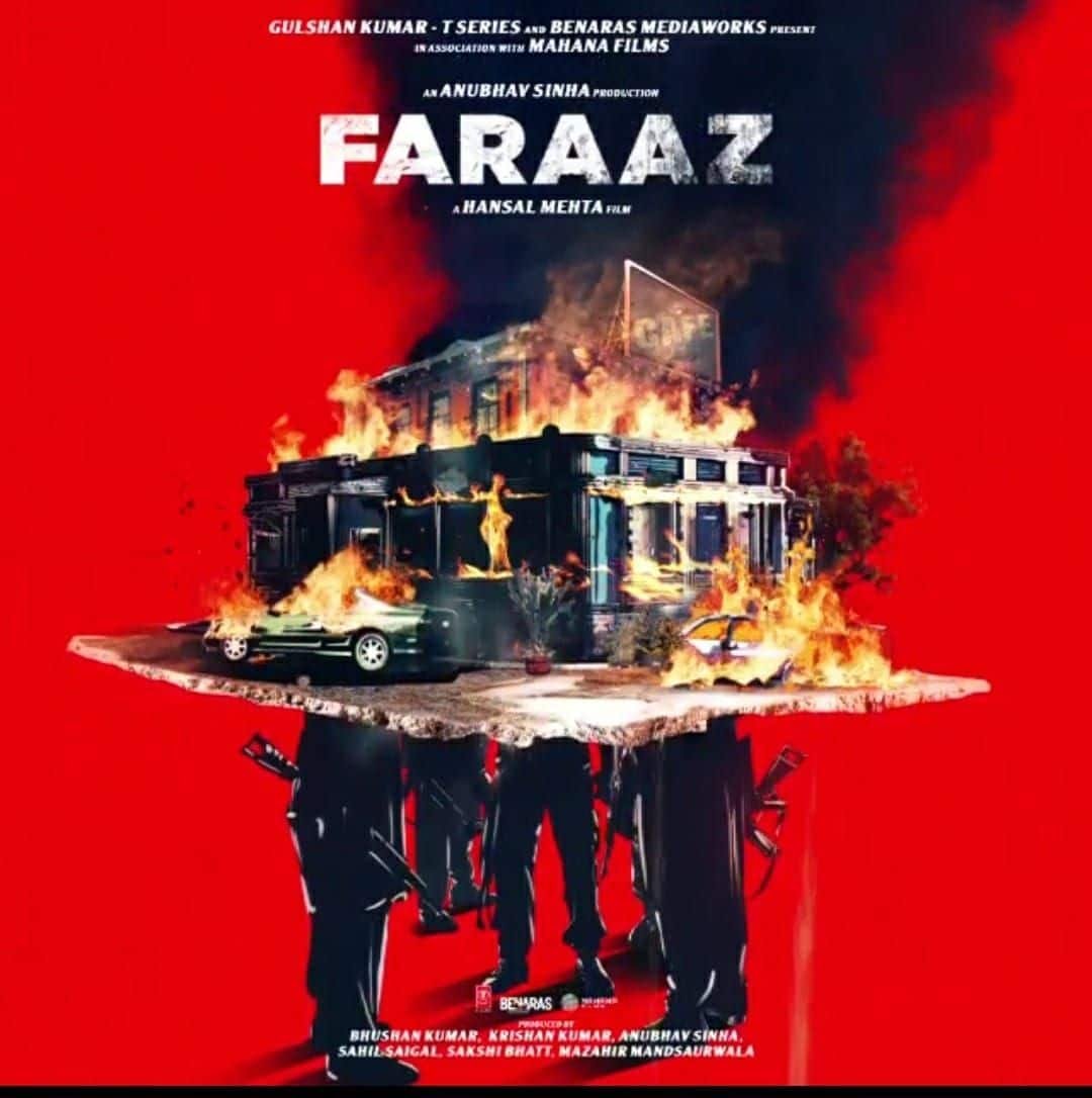 hansal mehtas faraaz  poster unveiled story based on bangladesh terriorist attack