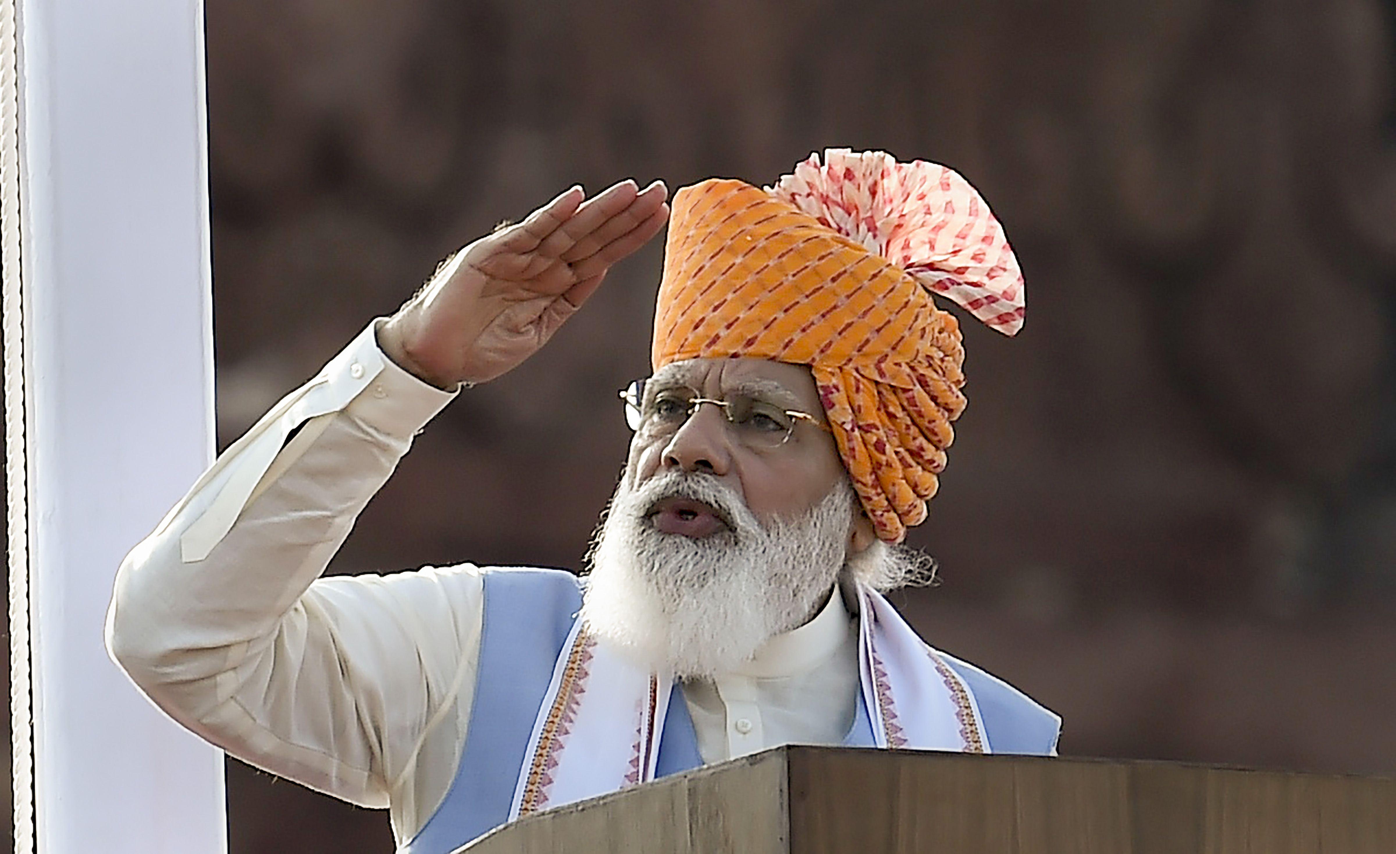 Modi infrastructure