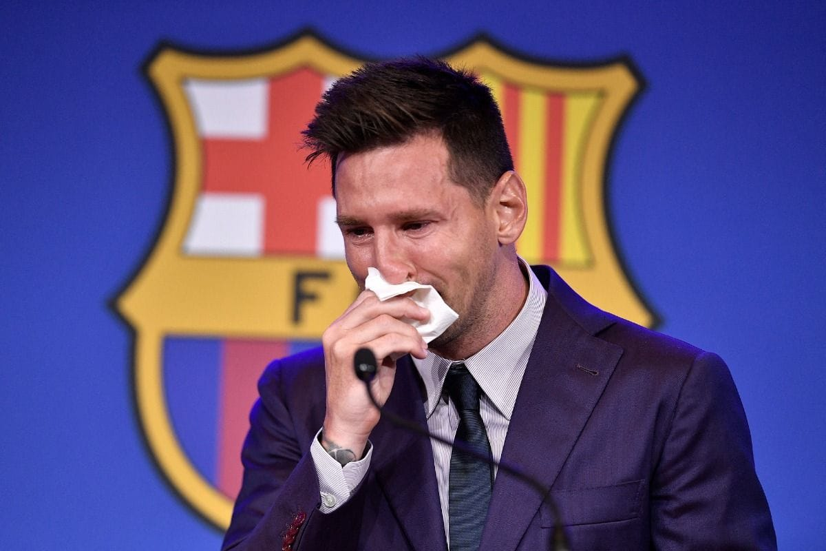 Lionel Messi Bids Emotional Teary Eyed Goodbye to Barcelona: Never Thought I had leave