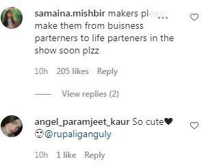 Fans React To Anupama-Anuj Kapadia's Pictures