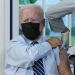US President Joe Biden Gets COVID-19 Booster Shot, Encourages Vaccines