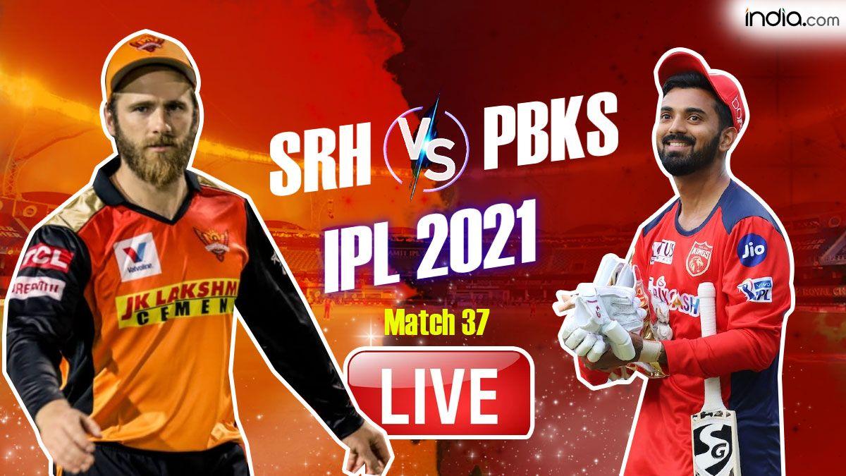 LIVE | IPL 2021, Match 37: Jason Holder's Cameo in Useless; Punjab Beat Hyderabad by 5 Runs
