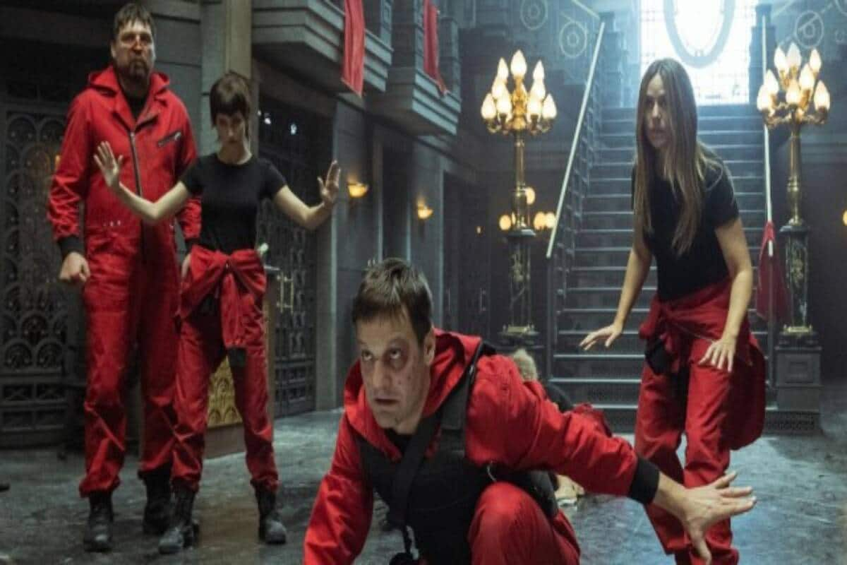 Money Heist plan was made by Berlin, designed by Palermo and executed by Professor