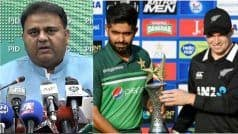 Pakistan Blames India For Sabotaging NZ Series, Claims Threatening Email Came From Unknown Device