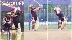 WATCH | Kohli Switches on Beast Mode Ahead of RR Game, Video Goes Viral