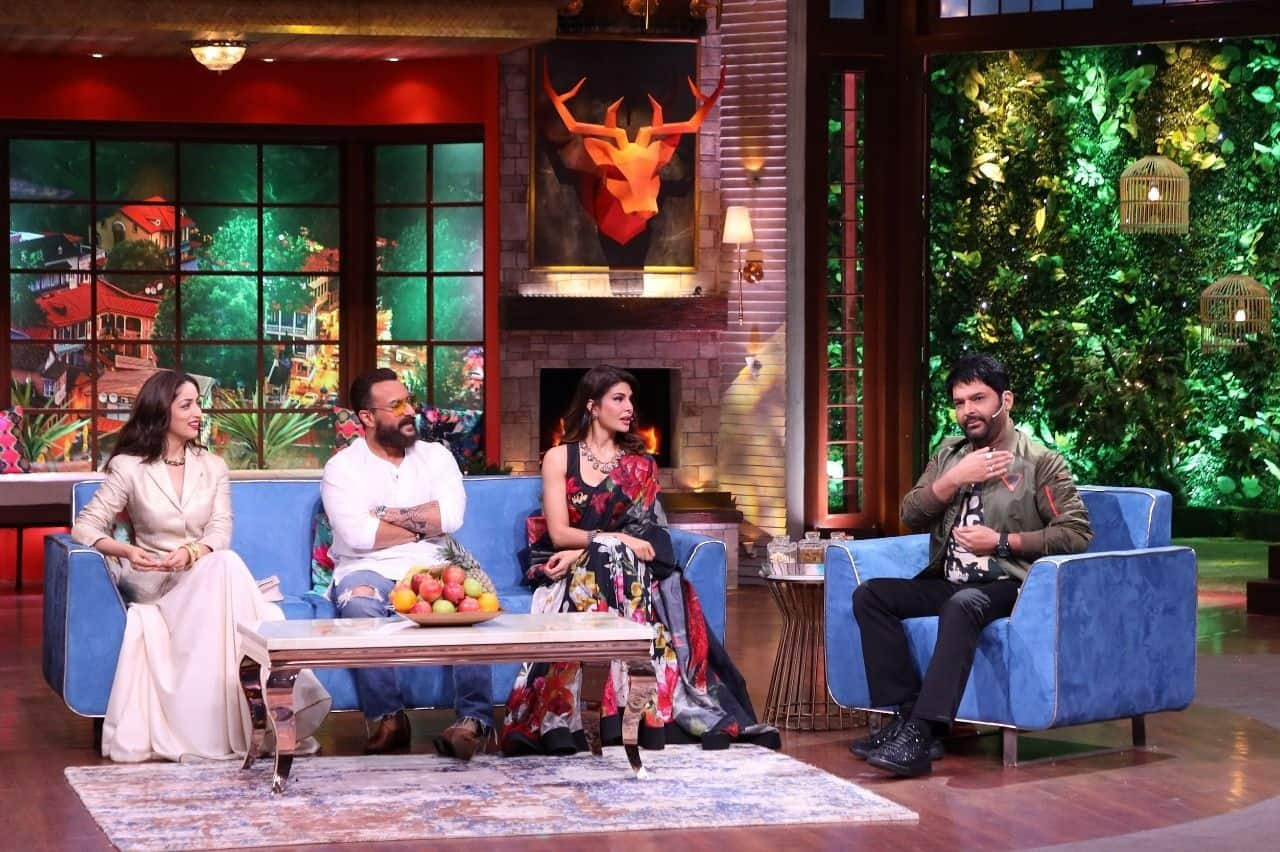 The Kapil Sharma Show's Saturday Episode Will Have The Cast of Bhoot Police- Saif Ali Khan, Jacqueline Fernandes and Yami Gautam