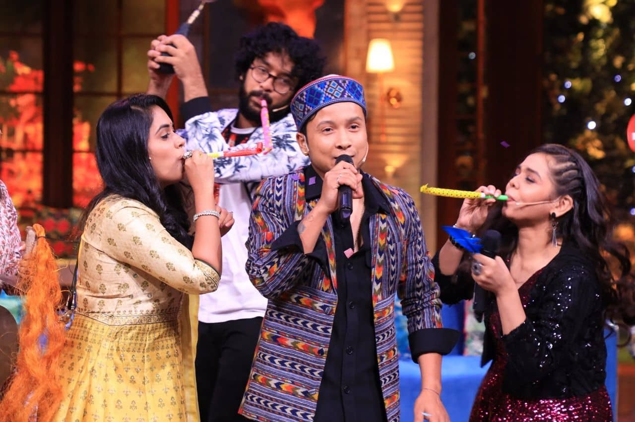 Pawandeep Rajan faces special test on The Kapil Sharma Show (Picture Credits: Sony TV)
