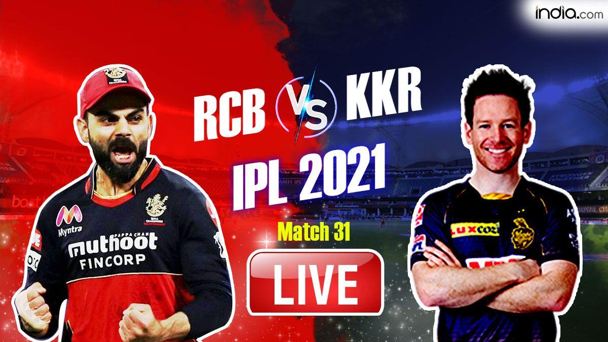 IPL 2021, Match 31: RCB vs KKR Straight From Abu Dhabi