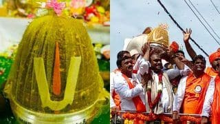 Hyderabad's Famous 21-kg Ganesh Laddu Sold for an All-time Record of ₹ 18.90 Lakh
