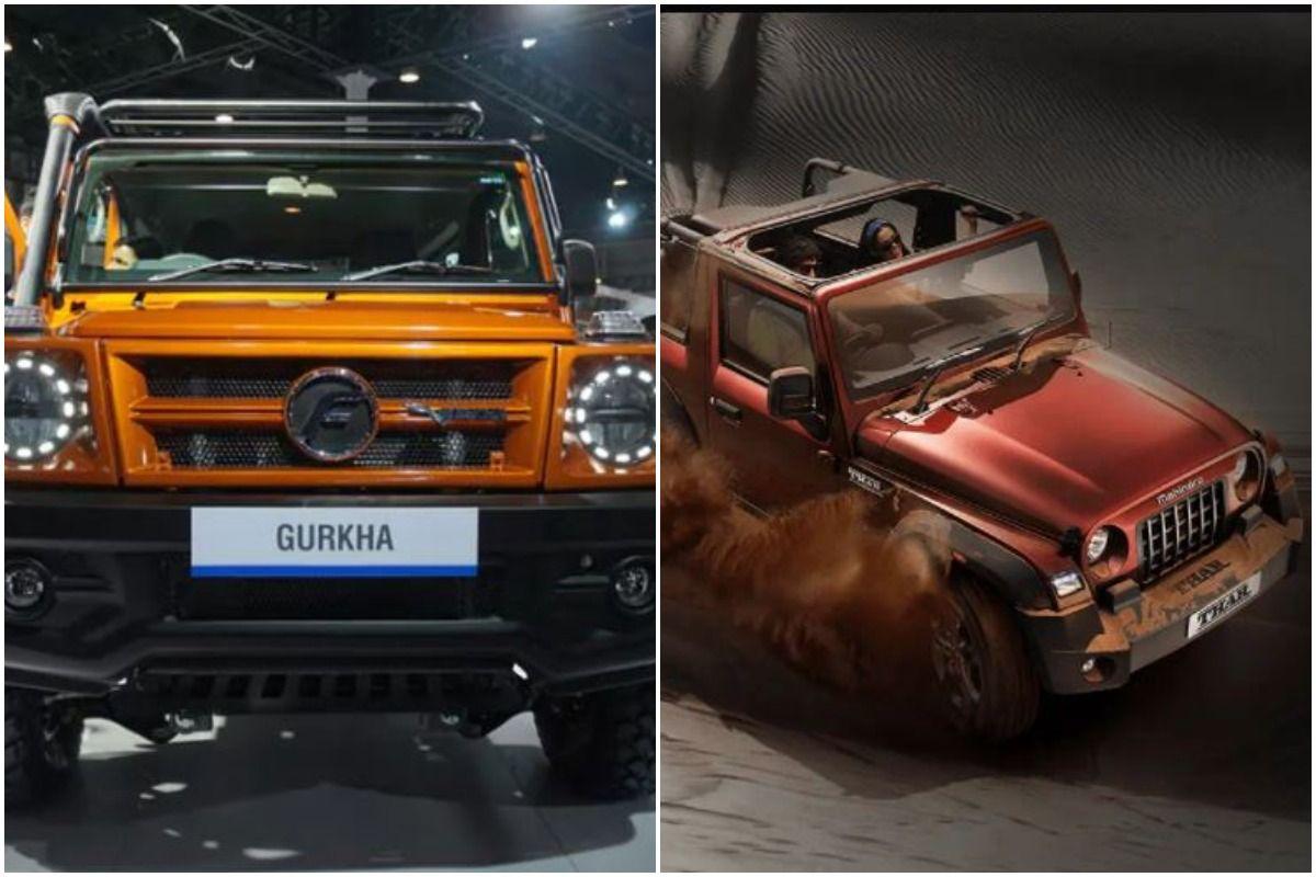 Mahindra Thar                                                Force        Gurkha