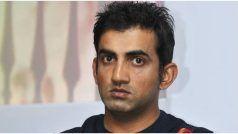 Gautam Gambhir Reveals His 'Only' Regret From KKR Days