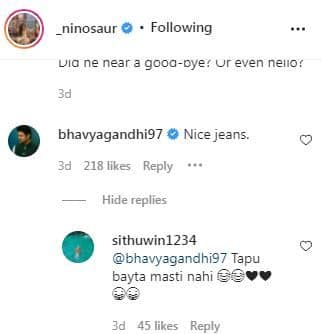 भव्य गांधी की टिप्पणी