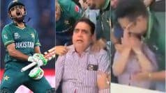VIDEO: Babar Azam's Father Breaks Into Tears After Pakistan Beat India in T20 World Cup
