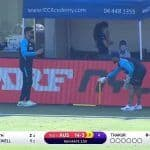 MS Dhoni Helps Rishabh Pant With Wicketkeeping Drills While Virat Kohli's India Take on Australia in Warm-up Game, Video Goes Viral   WATCH