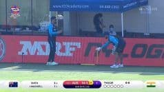 WATCH | Dhoni Helps Pant With Wicketkeeping Drills; Video Goes VIRAL