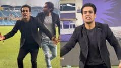 WATCH   'Mujhe Maaro' Guy Celebrates Pakistan's Win; Video Goes Viral