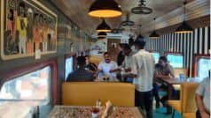 Old Train Coaches Turn Into a Swanky 'Restaurant on Wheels' in Mumbai – Check Interesting Details