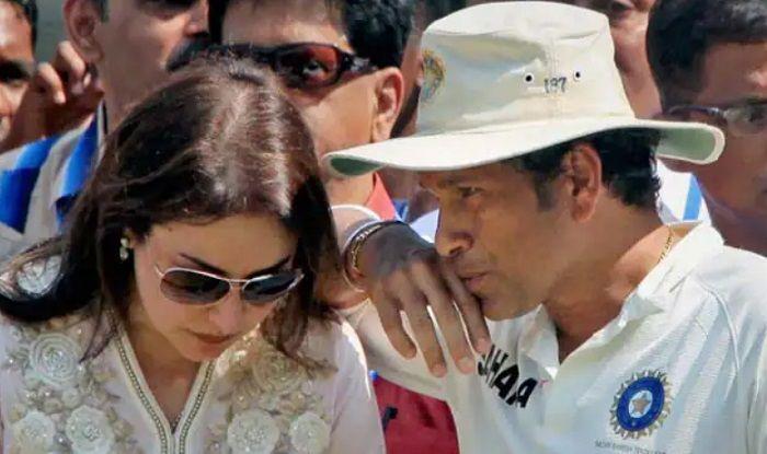 Anjali and Sachin Tendulkar (File Photo)