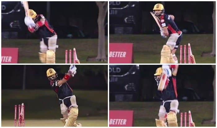 IPL 2021: Virat Kohli in Ominous Touch During RCB Net Session Ahead of SRH Clash   WATCH VIDEO