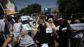 Afghan Women Protest Against Restrictions Imposed By Taliban