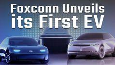 Watch: Foxconn Unveils Three New EV With Up To 750 km Range