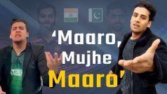 Viral Video: T20 World Cup 2021 से पहले 'Maaro, Mujhe Maaro' वाले Momin Saqib की वीडियो फिर हुई Viral   Watch