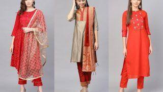 Karwa Chauth 2021 Outfit Ideas: Go Minimal in Indian Wear With These Styling Tips