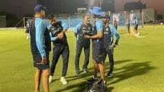 MS Dhoni Joins Team India in Dubai For T20 World Cup Campaign as Mentor