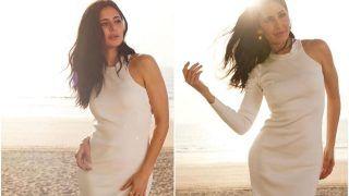 Katrina Kaif Oozes Beauty in a White Bodycon Dress, Worth Rs 48K